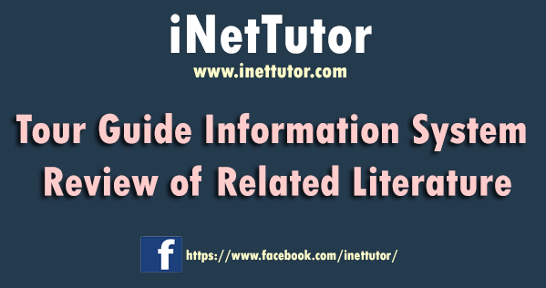 Tour Guide Information System Review of Related Literature