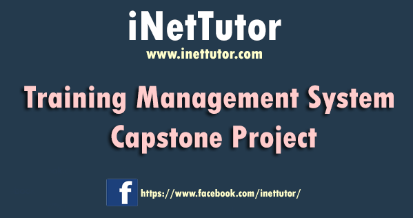 Training Management System Capstone Project