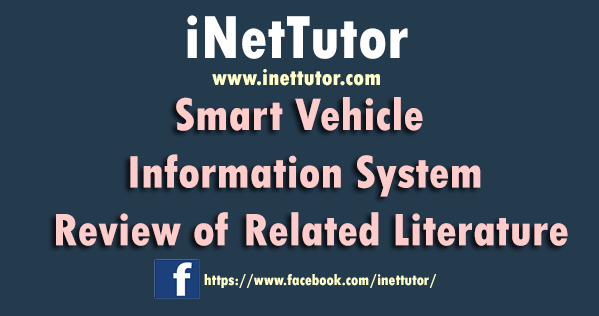 Smart Vehicle Information System Review of Related Literature