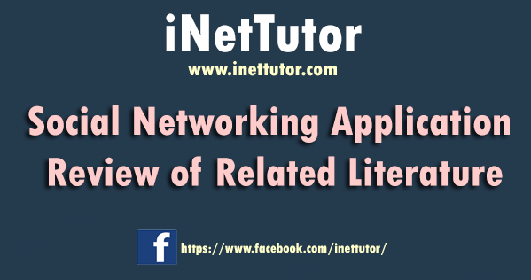 Social Networking Application Review of Related Literature