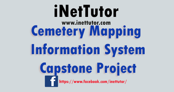 Cemetery Mapping Information System Capstone Project