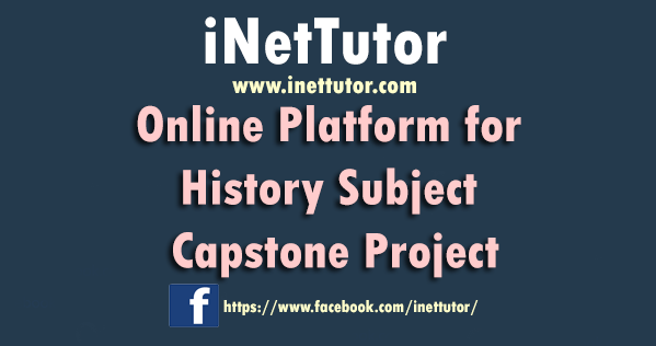 Online Platform for History Subject Capstone Project