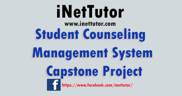 Student Counseling Management System Capstone Project
