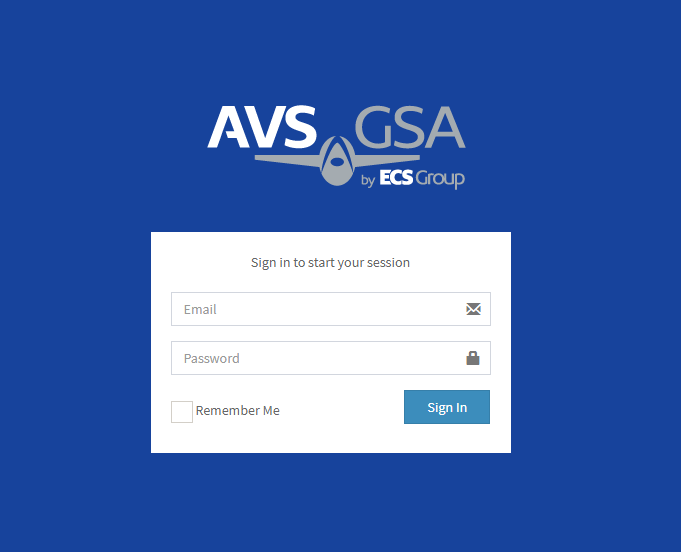 Online Tracking and Monitoring System Login Form