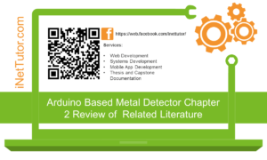Arduino Based Metal Detector Chapter 2 Review of Related Literature