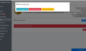 Client Monitoring System Task Monitoring