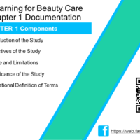 ELearning for Beauty Care Chapter 1 Documentation