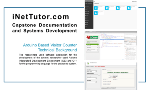 Arduino Based Visitor Counter Technical Background