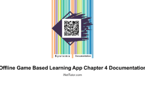 Offline Game Based Learning App Chapter 4 Documentation