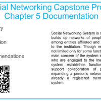 Social Networking Capstone Project Chapter 5 Documentation