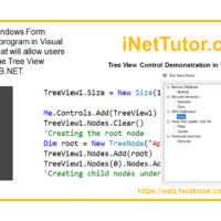 Tree View Demo in VB.Net - Tutorial and Source code