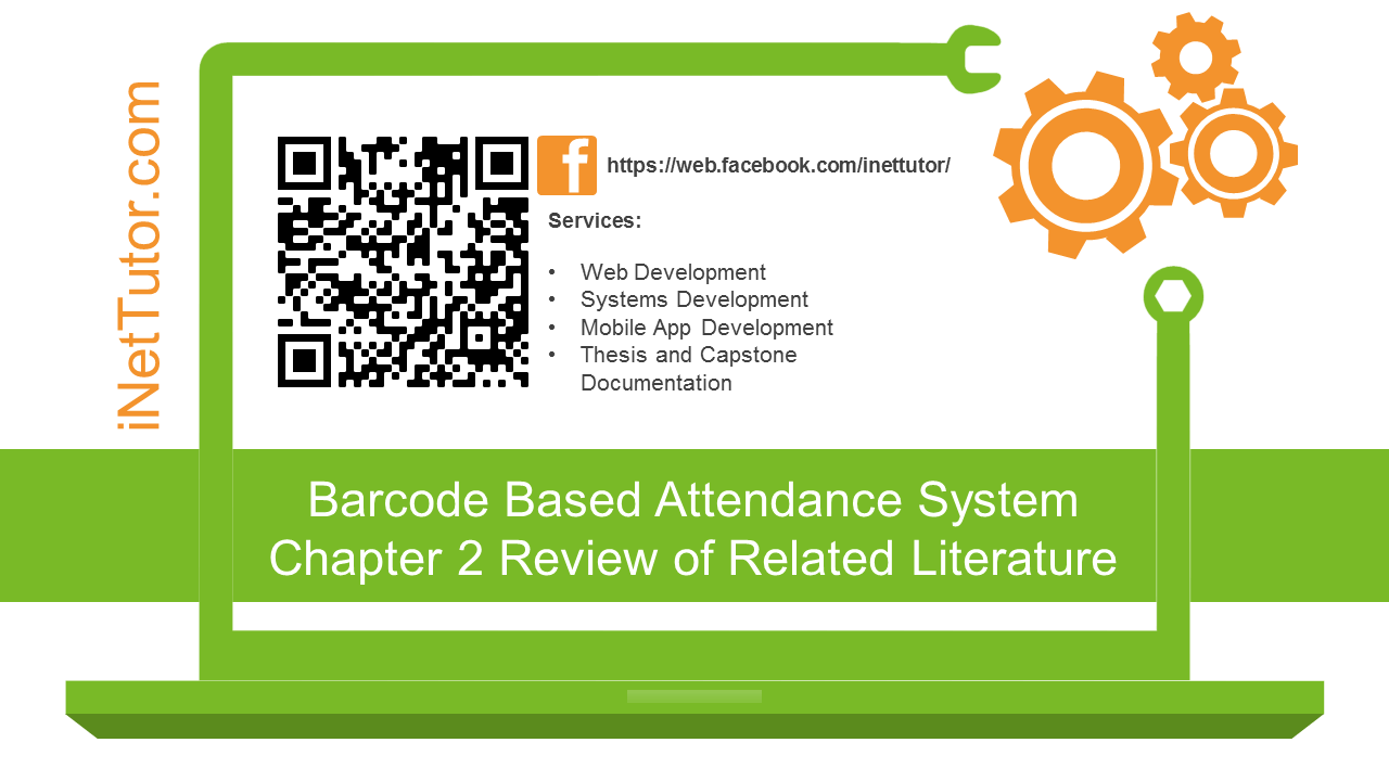 Barcode Based Attendance System Chapter 2 Review of Related Literature