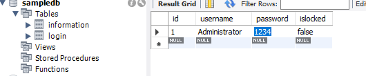 Create Login Attempt Limit Form in C# and MySQL Database - Form 2