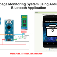 IOT Garbage Monitoring System using Arduino with Bluetooth Application