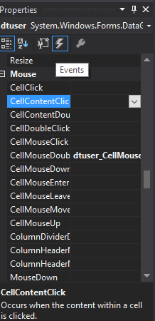 Select data in DataGridView Rows and Show in TextBox Using C# MySQL Database - Step 4