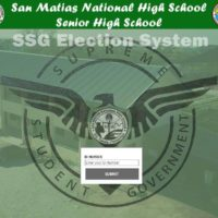 Senior High School Voting System in VB.Net - Enter ID Number Form