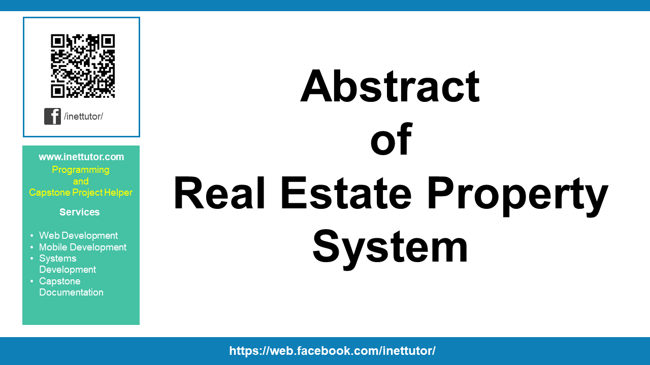 Abstract of Real Estate Property System