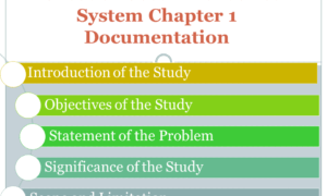 Barcode Based Attendance System Chapter 1 Documentation