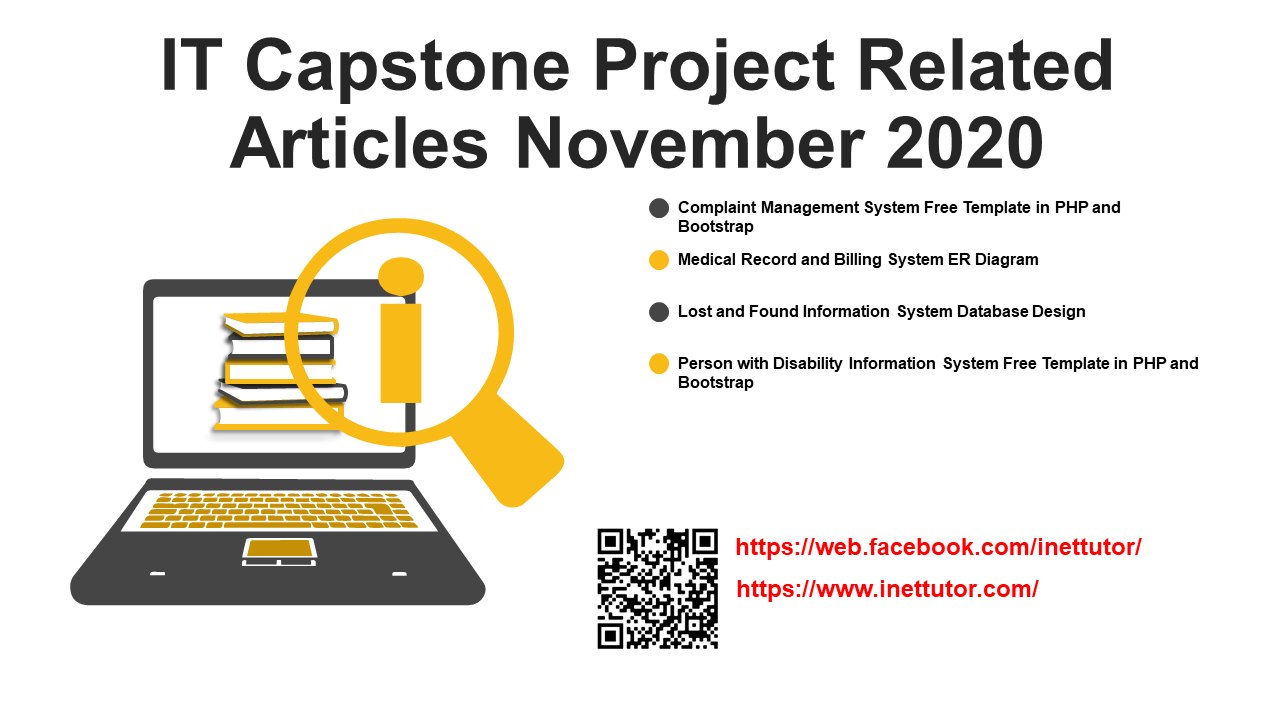 IT Capstone Project Related Articles November 2020