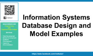 Information Systems Database Design and Model Examples