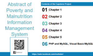 Abstract of Poverty and Malnutrition Information Management System