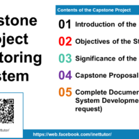Capstone Project Monitoring System