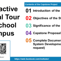 Interactive Virtual Tour of School Campus