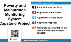 Poverty and Malnutrition Monitoring System Capstone Project