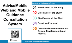 AdviseMobile Web and Mobile Guidance Consultation System