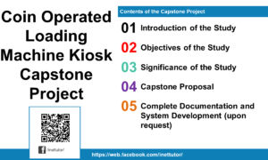 Coin Operated Loading Machine Kiosk Capstone Project