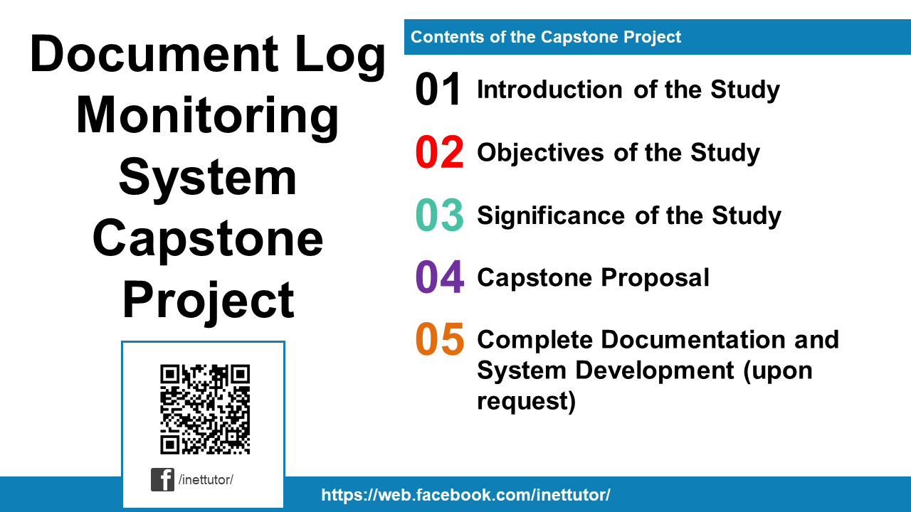 Document Log Monitoring System Capstone Project