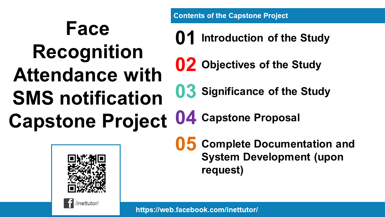 Face Recognition Attendance with SMS notification Capstone Project