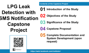 LPG Leak Detection with SMS Notification Capstone Project