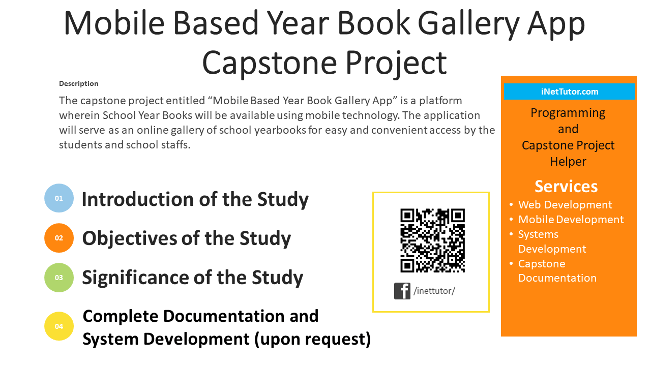 Mobile Based Year Book Gallery App Capstone Project