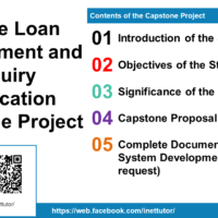 Mobile Loan Management and Inquiry Application Capstone Project