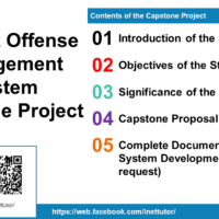 Student Offense Management System Capstone Project