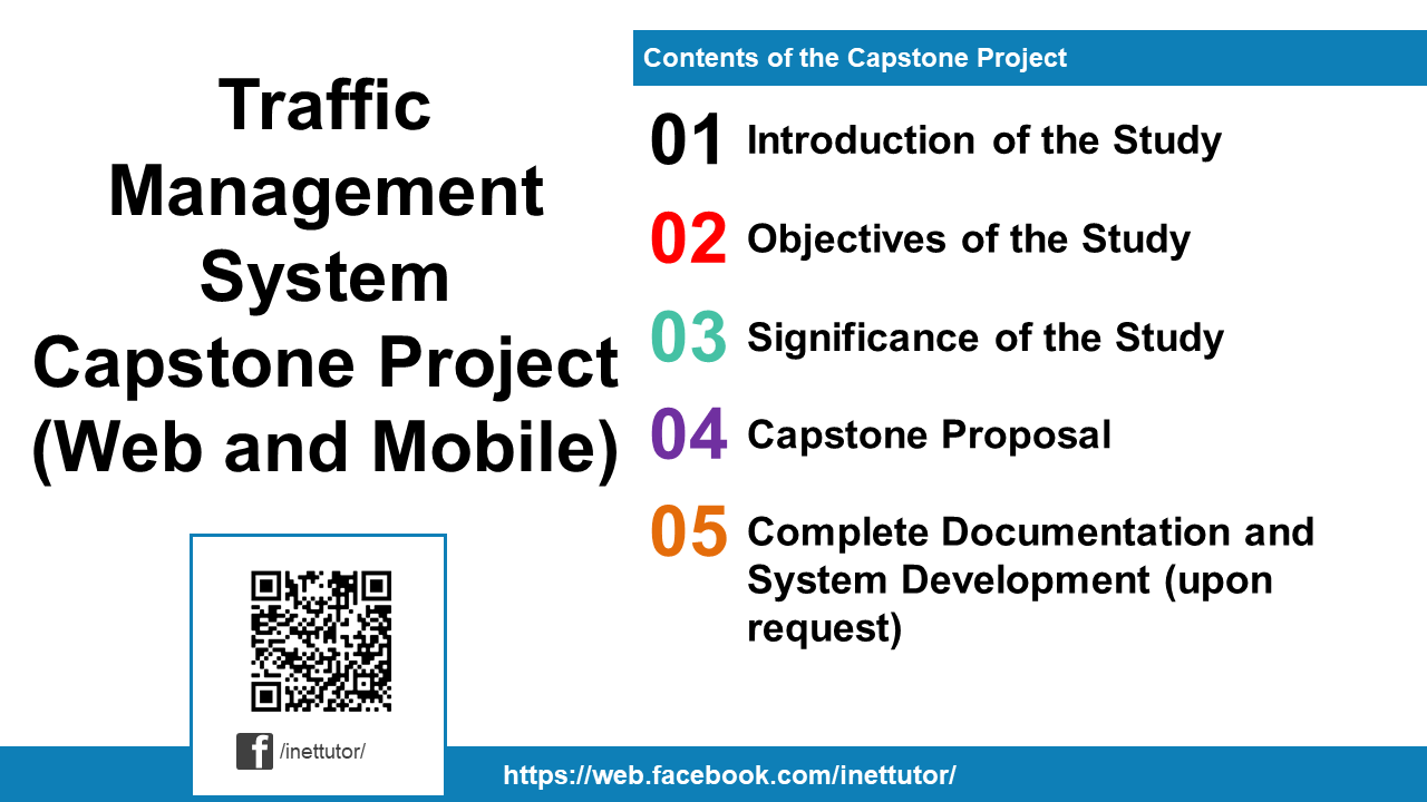Traffic Management System Capstone Project