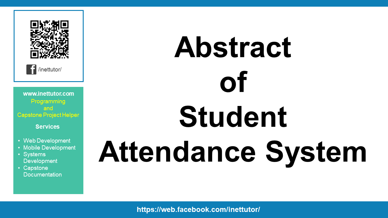 Abstract of Student Attendance System