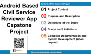 Android Based Civil Service Reviewer App Capstone Project