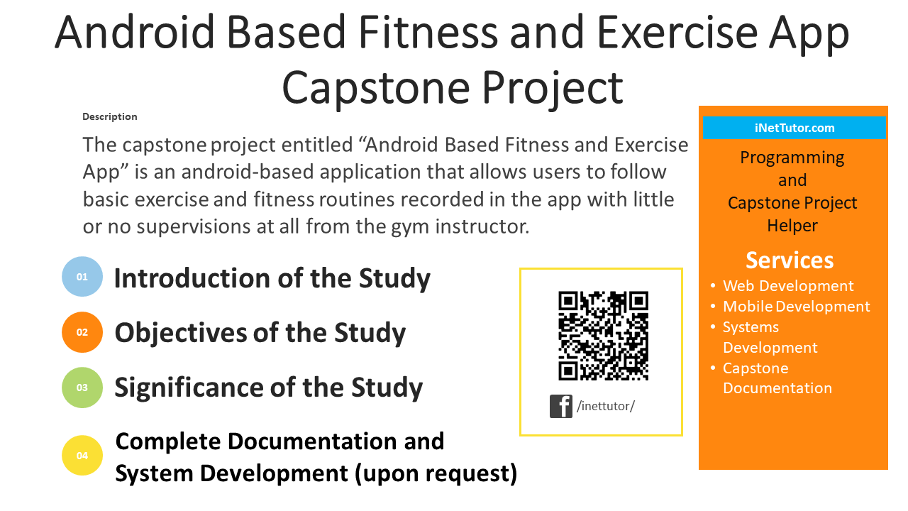 Android Based Fitness and Exercise App Capstone Project