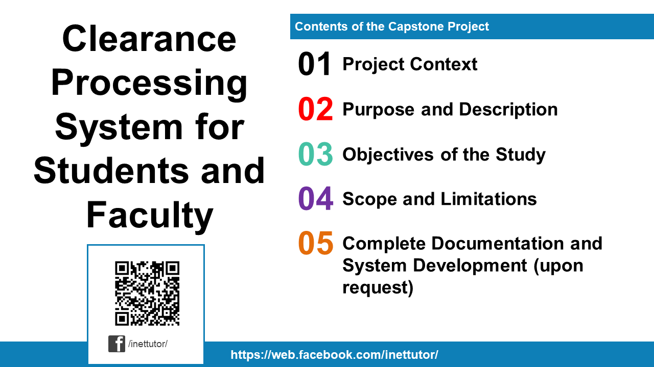Clearance Processing System for Students and Faculty