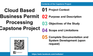 Cloud Based Business Permit Processing Capstone Project