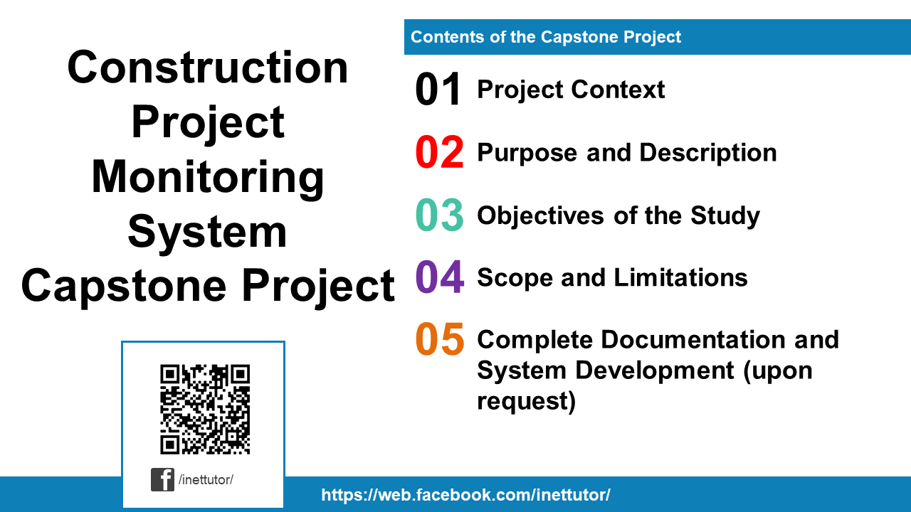Construction Project Monitoring System Capstone Project