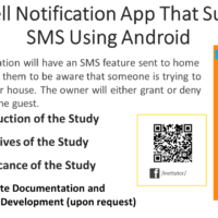 Doorbell Notification App That Supports SMS Using Android