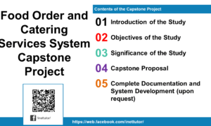 Food Order and Catering Services System Capstone Project