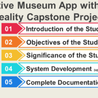 Interactive Museum App with Virtual Reality Capstone Project