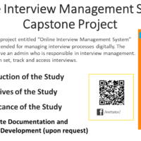 Online Interview Management System Capstone Project