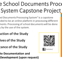 Online School Documents Processing System Capstone Project