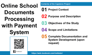 Online School Documents Processing with Payment System