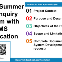 Online Summer Job Inquiry System with SMS Notification